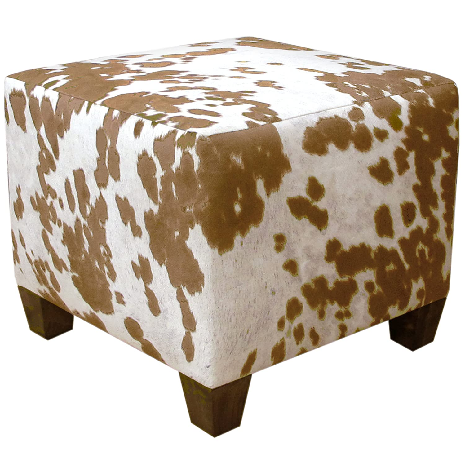 Elegant Amazon.com: Skyline Furniture Square Ottoman, Udder Madness Milk: Kitchen U0026  Dining