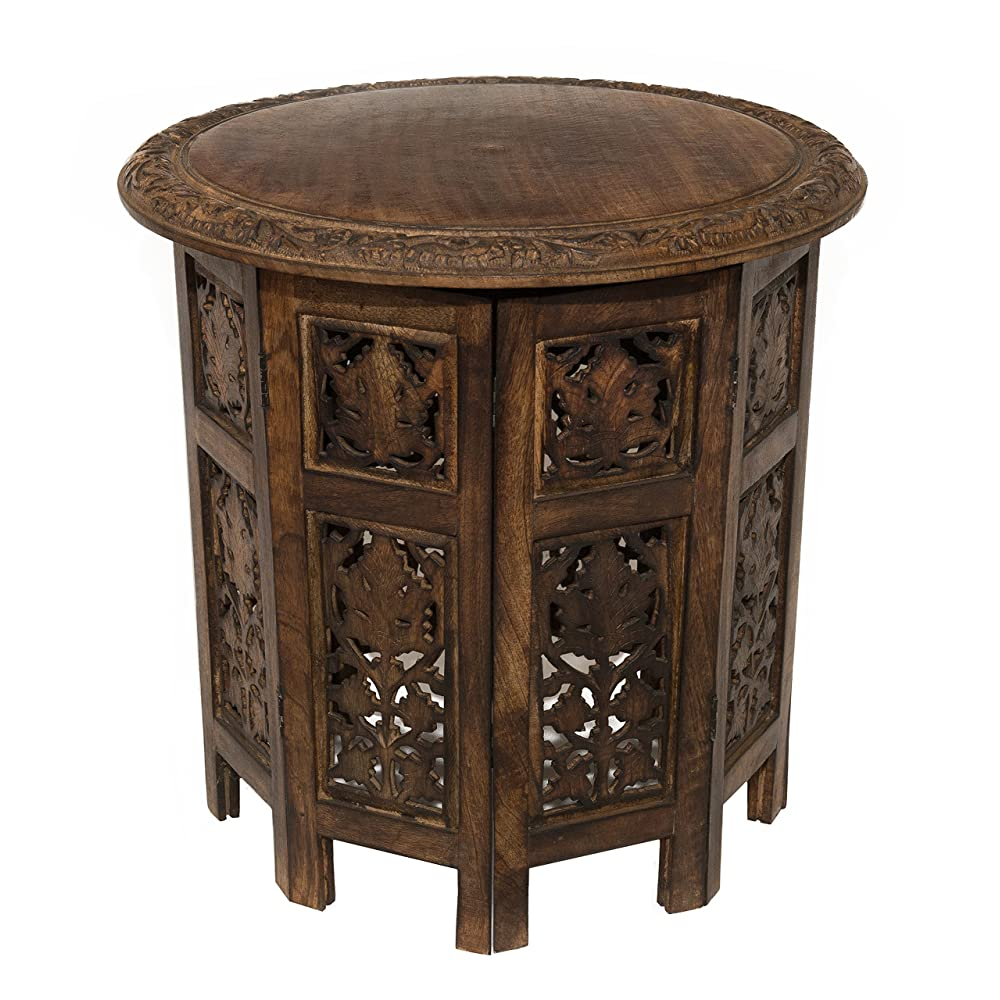 Mango Makes Great Furniture. Cotton Craft Jaipur Solid Wood Hand Carved  Accent Coffee Table