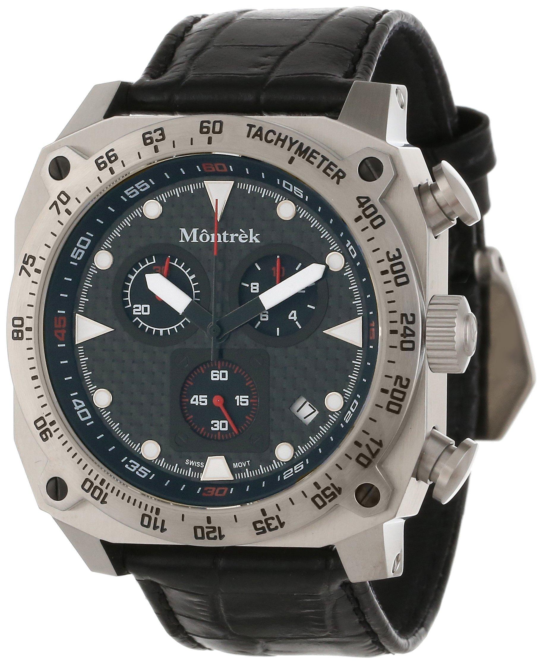 Montrek Unisex M41.1212.L411 CR1 Chronograph Swiss Quartz Watch