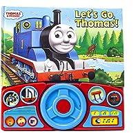 Thomas & Friends - Let's Go Thomas! Interactive Steering Wheel Sound Book - PI Kids (Steering Wheel Book)