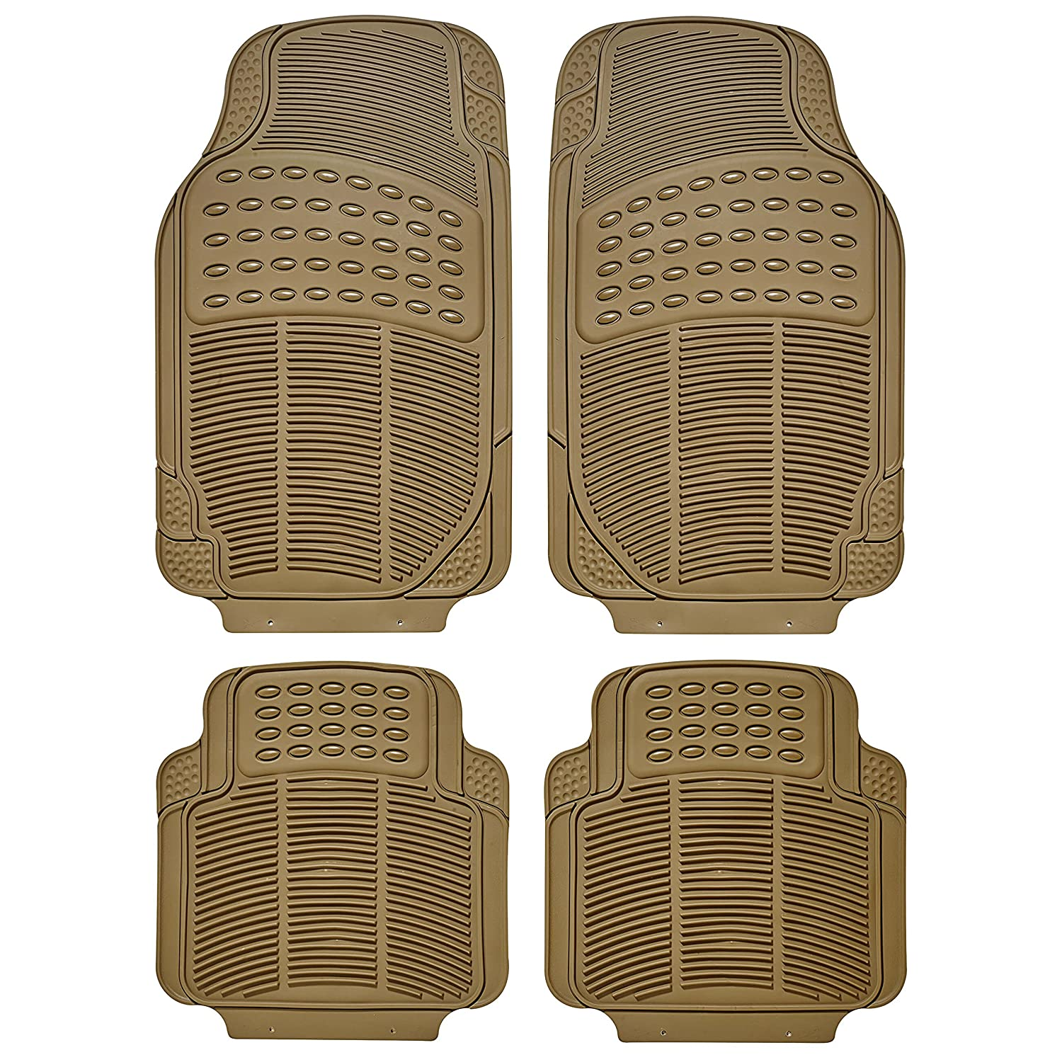 Sumex CONTI10 Universal Continental Rubber Car Mats - Beige