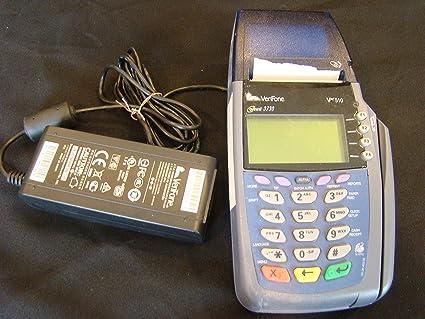 verifone vx510le omni 3730le5100 credit card printer m251 000 33 - Credit Card Printer