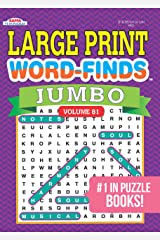 JUMBO Large Print Word-Finds Puzzle Book-Word Search Volume 81 Paperback