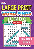 JUMBO Large Print Word-Finds Puzzle Book-Word Search Volume 81