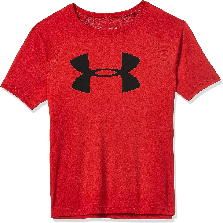 Under Armour Boys' Tech Big Logo Short Sleeve Gym T-Shirt