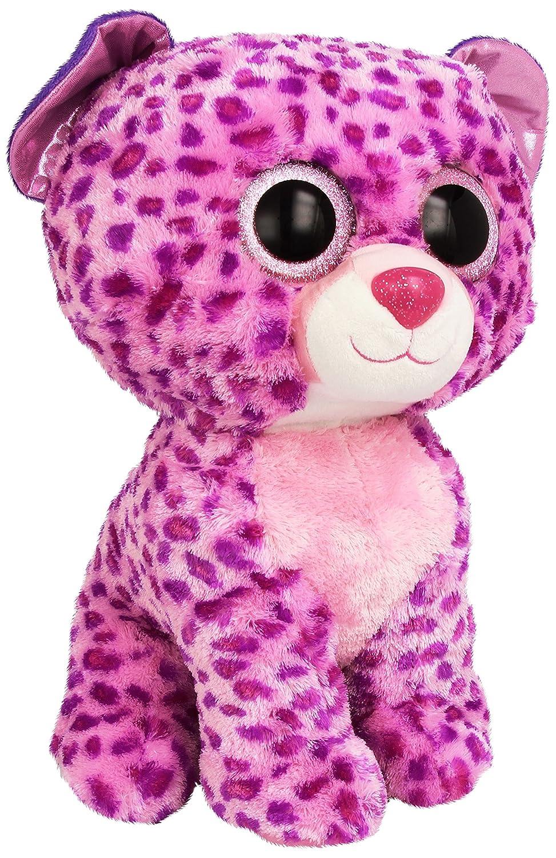 Ty - Glamour, peluche leopardo, 40 cm, color lila (36811TY): Amazon.es: Juguetes y juegos