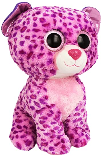 0531dcb78d0 Buy Ty Beanie Boos Buddies Glamour Pink Leopard Large Plush Online at Low  Prices in India - Amazon.in
