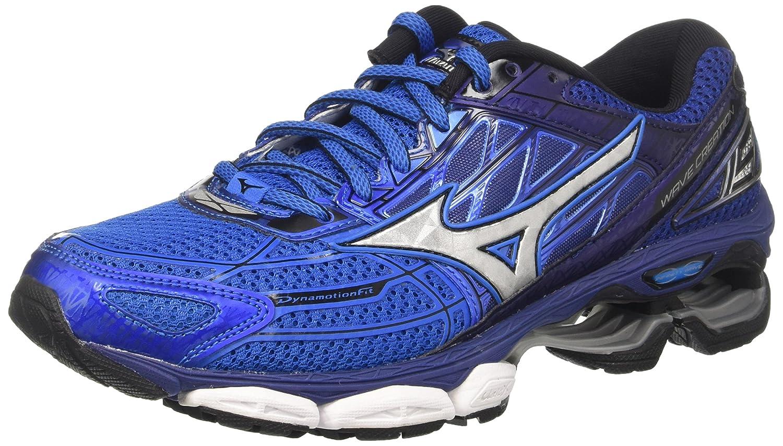 Mizuno Wave Creation, Zapatillas de Running para Hombre 40.5 EU|Multicolor (Directoireblue/Silver/Blueprint)