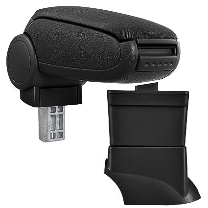 pro.tec Centre Console Storage Box inkl Car Armrest Perfekt Fit textil cover // black
