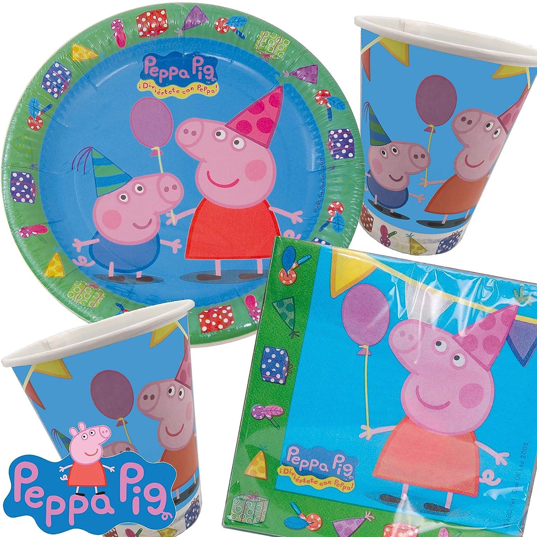 2 Grandes Carteles de cartón * Peppa Pig * como decoración ...