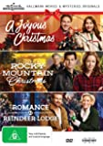 Hallmark Christmas 3 Film Collection (A Joyous Christmas/Rocky Mountain Christmas/Romance at Reindeer Lodge)