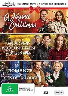 hallmark christmas 3 film collection a joyous christmasrocky mountain christmasromance at