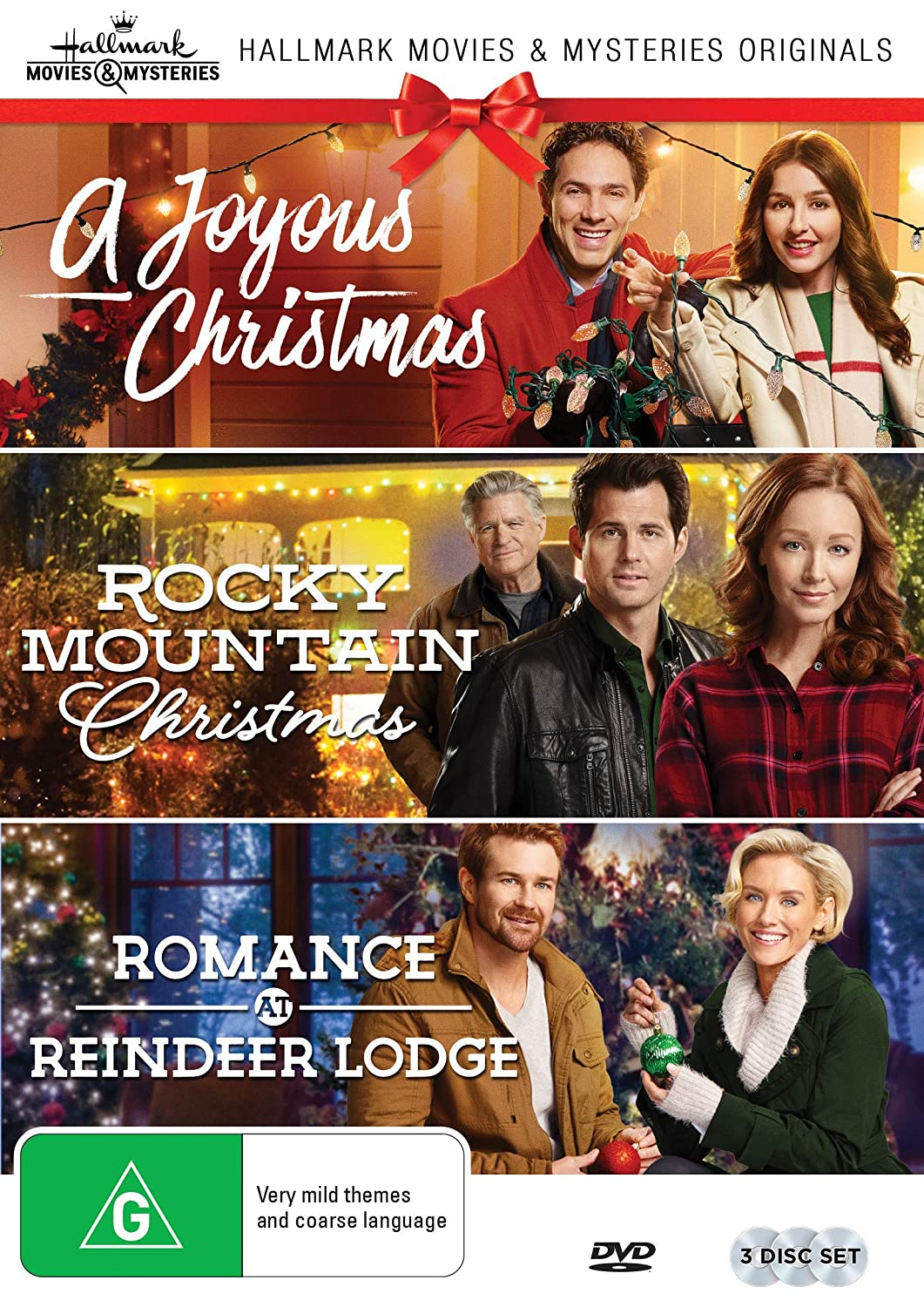 Amazon.com: Hallmark Christmas 3 Film Collection (A Joyous Christmas ...