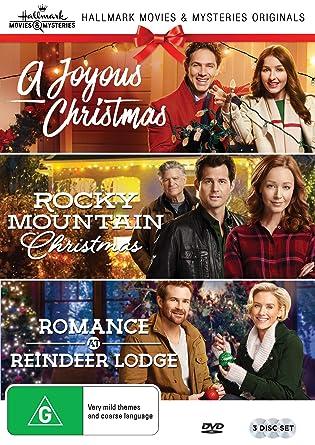 A Joyous Christmas Cast.Hallmark Christmas 3 Film Collection A Joyous Christmas