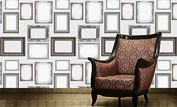 1 Wall Photo Frames Cadre Photo Motif Papier Peint Orné W10Mfram01