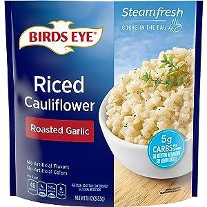 Birds Eye Steamfresh Roasted Garlic Riced Cauliflower, 10 OZ