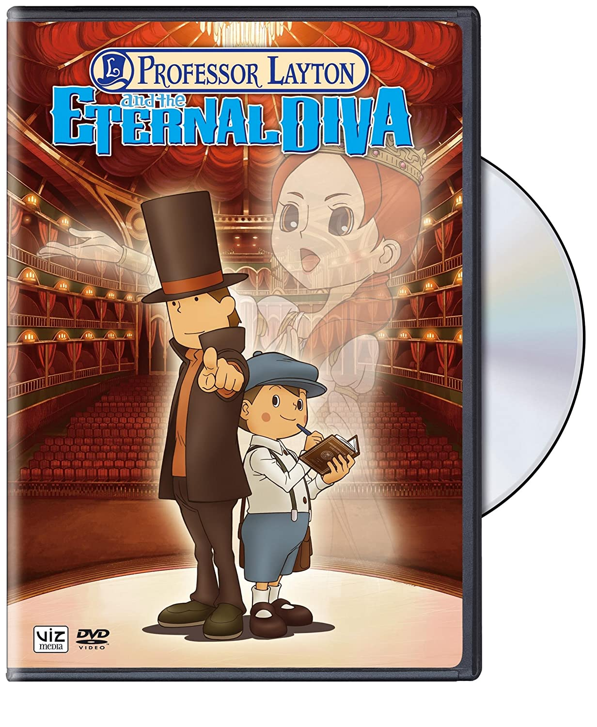 Amazon Com Professor Layton And The Eternal Diva Various