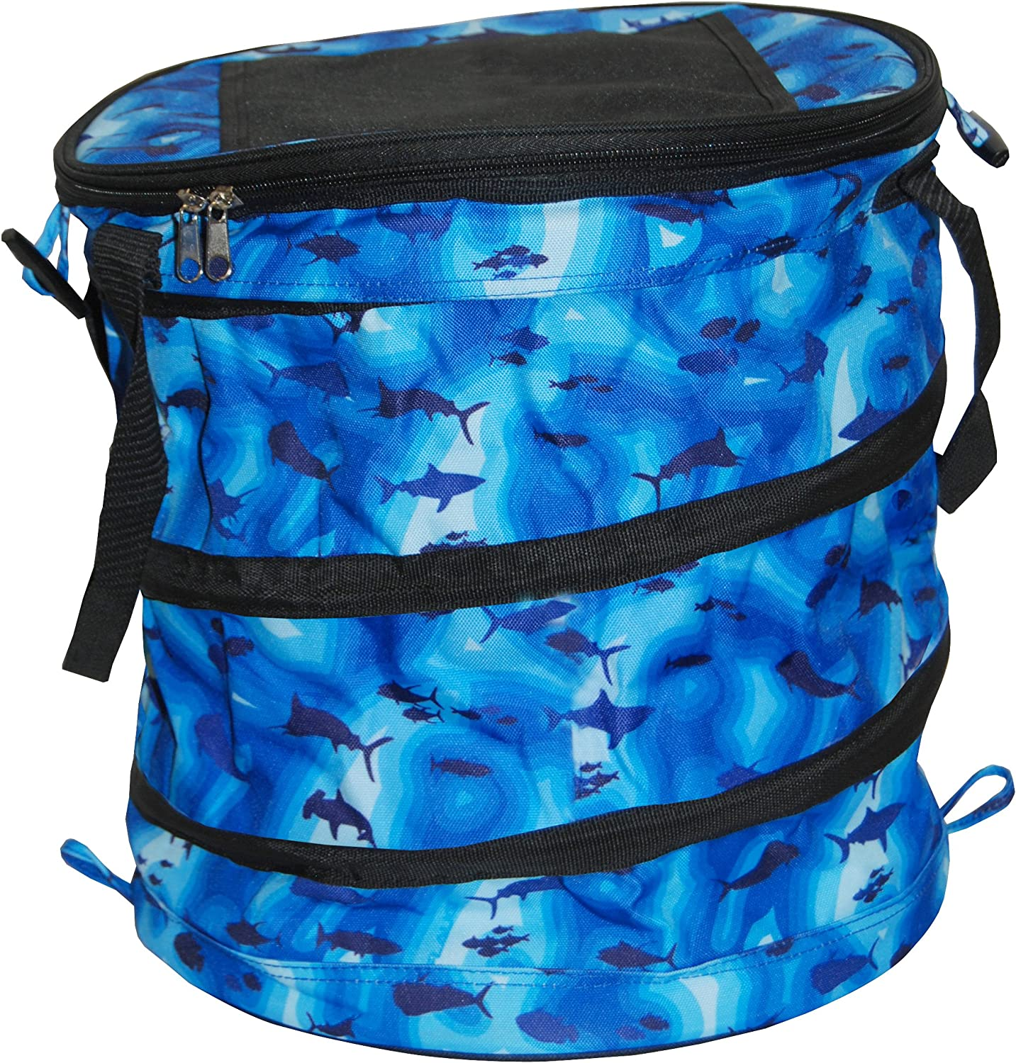 Taylor Made Products Collapsible Cooler, 8 Liter, Zippered Top, Velcro Access Hatch 91uvO4AEm5L