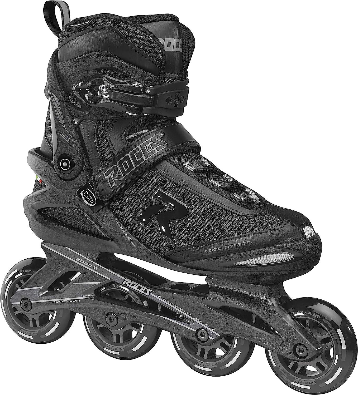Roces Herren ICON Inline-Skates Black-Dark-Charcoal