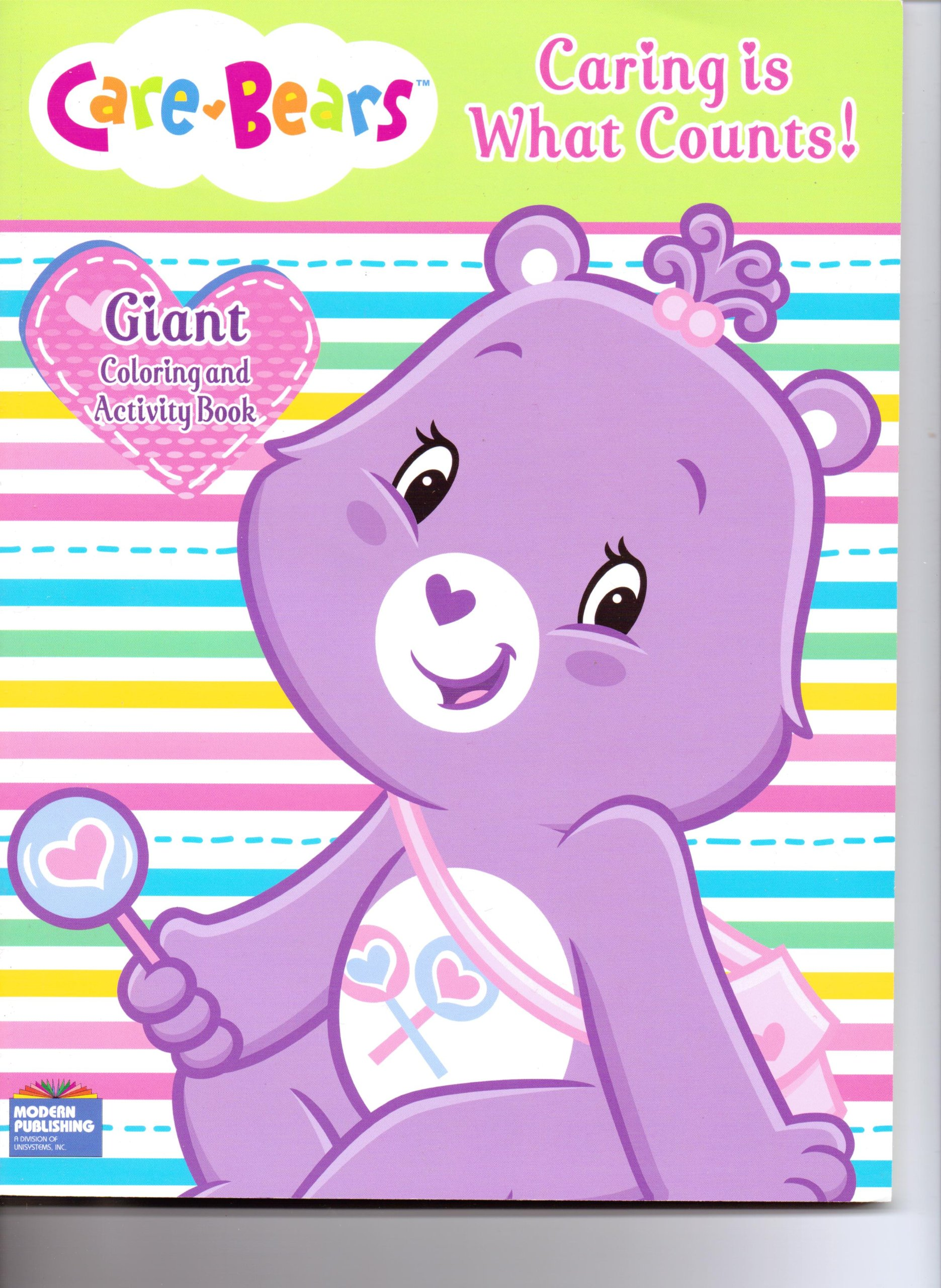 Download Care Bears Giant Coloring & Activity - Caring Is What Counts pdf
