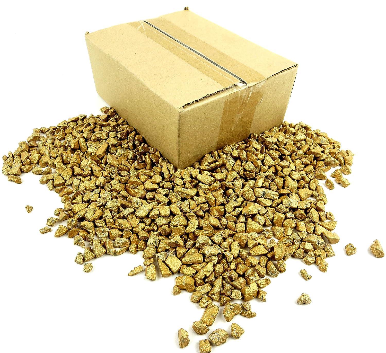 Amazon.com : Gold Chocolate Rocks Candy Nuggets 1LB Bag ...
