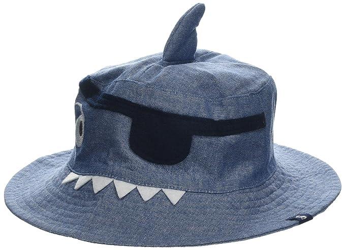 Blue Joules Hats Kids Brit Sharks Reversible Bucket Hat
