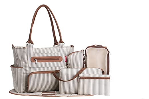 SoHo Collection, Grand Central Station 7 pieces Diaper Bag Review