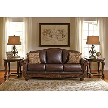 Amazon.Com: Ashley Furniture Signature Design - Mellwood Leather