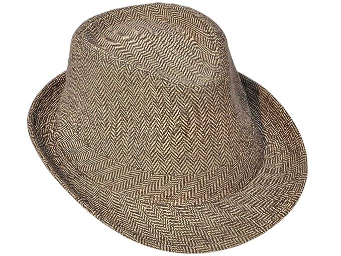 961b80115f5 Simplicity Mens Vintage Sixties Style Wool Fedora Hats