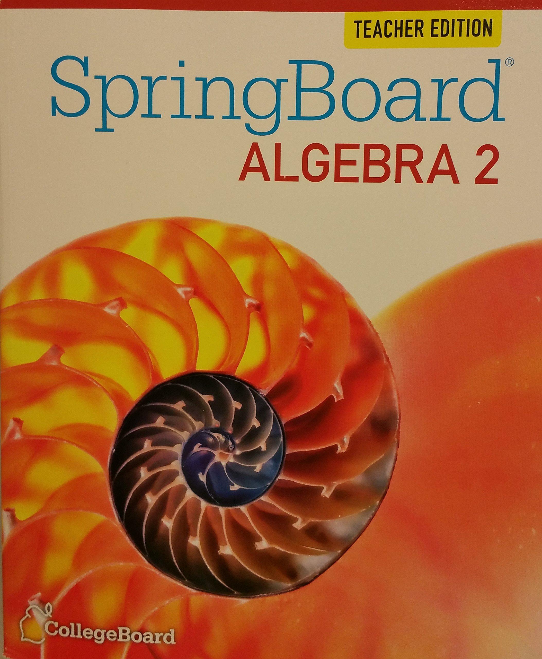 springboard algebra 2 embedded assessment 1 answers