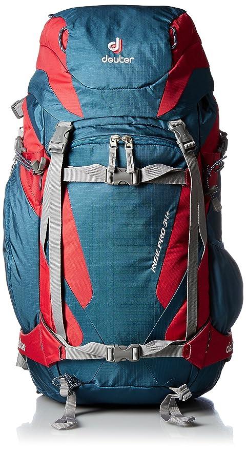 76baea7e9f Deuter Rise Pro Zaino per alpinismo, Unisex adulto, Blu (Arctic/Fire ...