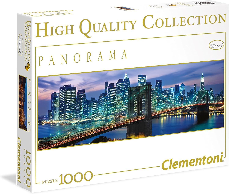 Clementoni - Puzzle de 1000 Piezas, Panorama, diseño New York ...