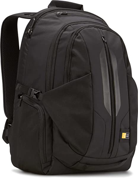 9382834e2214 Case Logic RBP-117 17.3-Inch MacBook Pro/Laptop Backpack with iPad/Tablet  Pocket (Black)