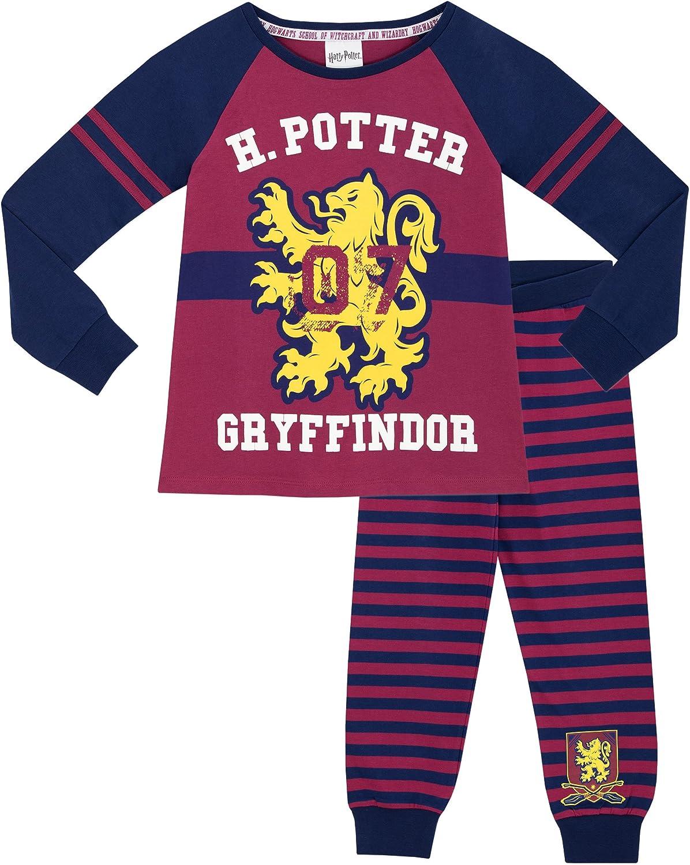 Sous Licence Garçons Filles Enfants Harry Potter Poudlard Pyjamas Pjs Nightwear 5-6 ans