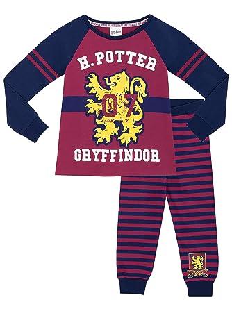 32b3b48bf Harry Potter Girls Pyjamas Ages 5 to 13 Years: Amazon.co.uk: Clothing