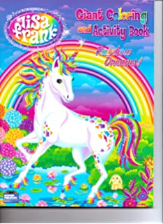 lisa frank giant coloring and activity book rainbow dreams - Lisa Frank Coloring Pages Unicorn