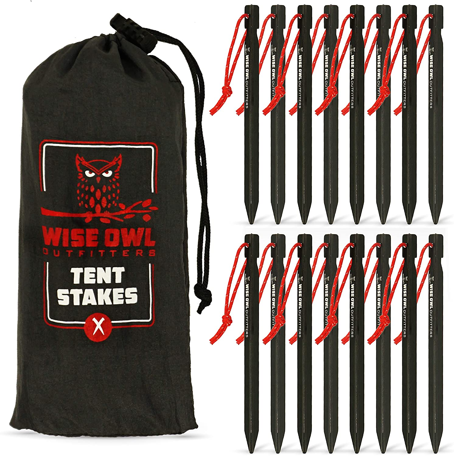 Wise Owl Outfitters Tent Stakes