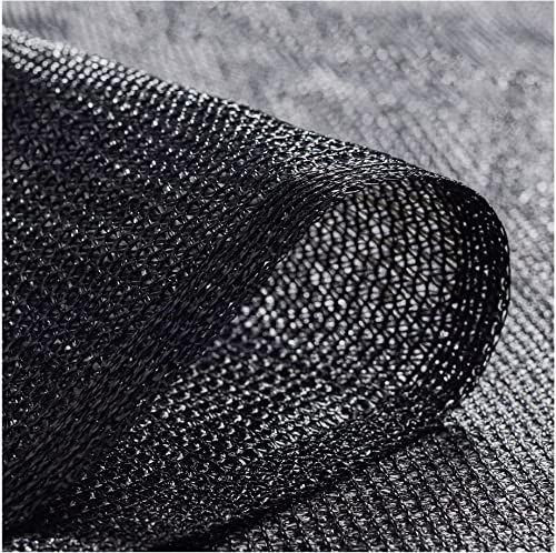 Coolaroo 300371 Outdoor or Exterior, 6 X 100 , Black Shade Fabric 50 UV Coverage for Gardening