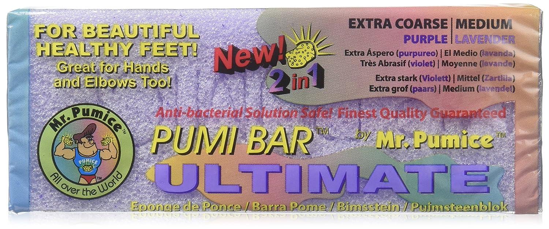 Mr. Pumice Pumi Bar Ultimate ( Coarse/Purple - Medium/Lavender ) 1 Pumice Bar by Mr. Pumice Mr Pumice