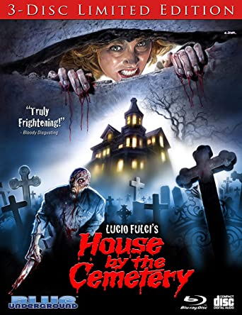 The House By The Cemetery (3-Disc Limited Edition) [Blu-ray]