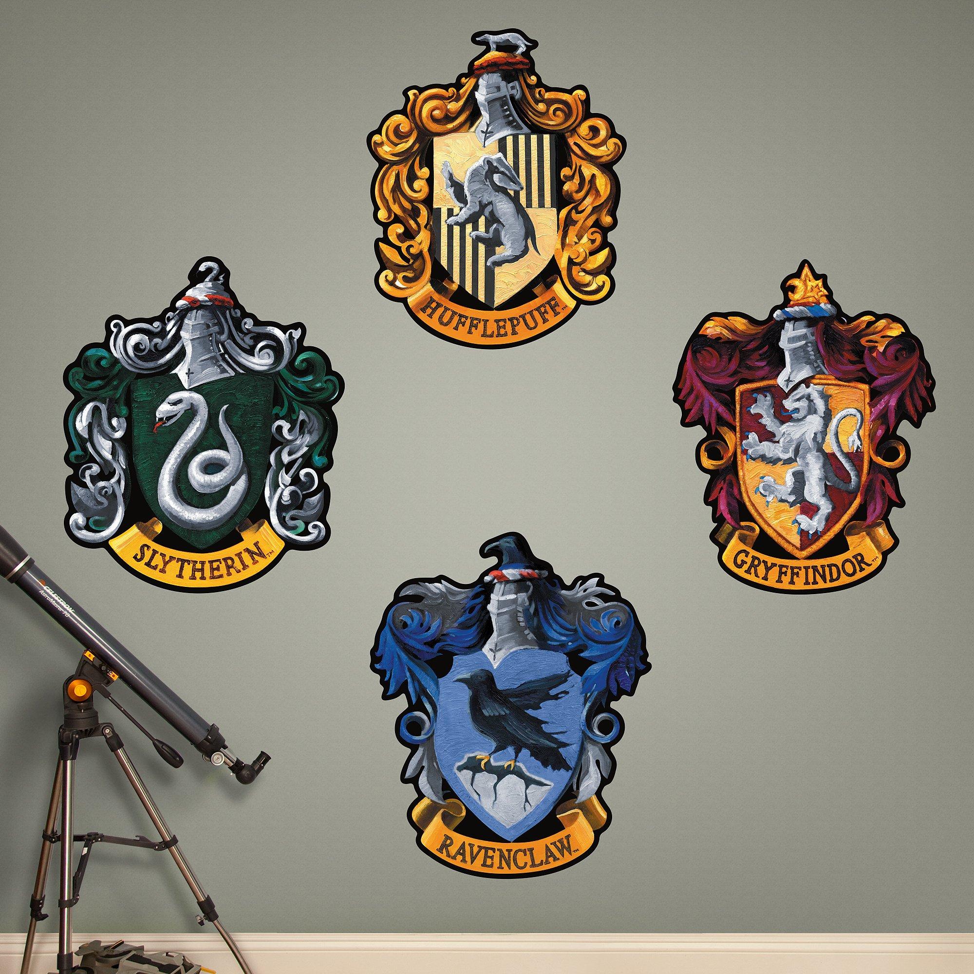 Fathead Hogwarts House Sigils Real Decals
