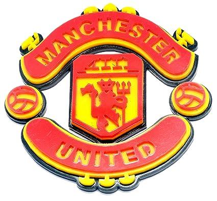 clean clever car logo manchester united acrylic laser cut logo rh amazon in logo manchester united a imprimer logo manchester united 2018