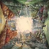 Schmidt 59294 - Thomas Kinkade, Quadratpuzzle, Viktorianischer Garten, Puzzle, 1000 Teile