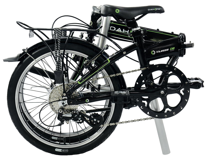 Dahon Vitesse D8 2016 - Bicicleta plegable, unisex, color negro, tamaño mediano: Amazon.es: Deportes y aire libre
