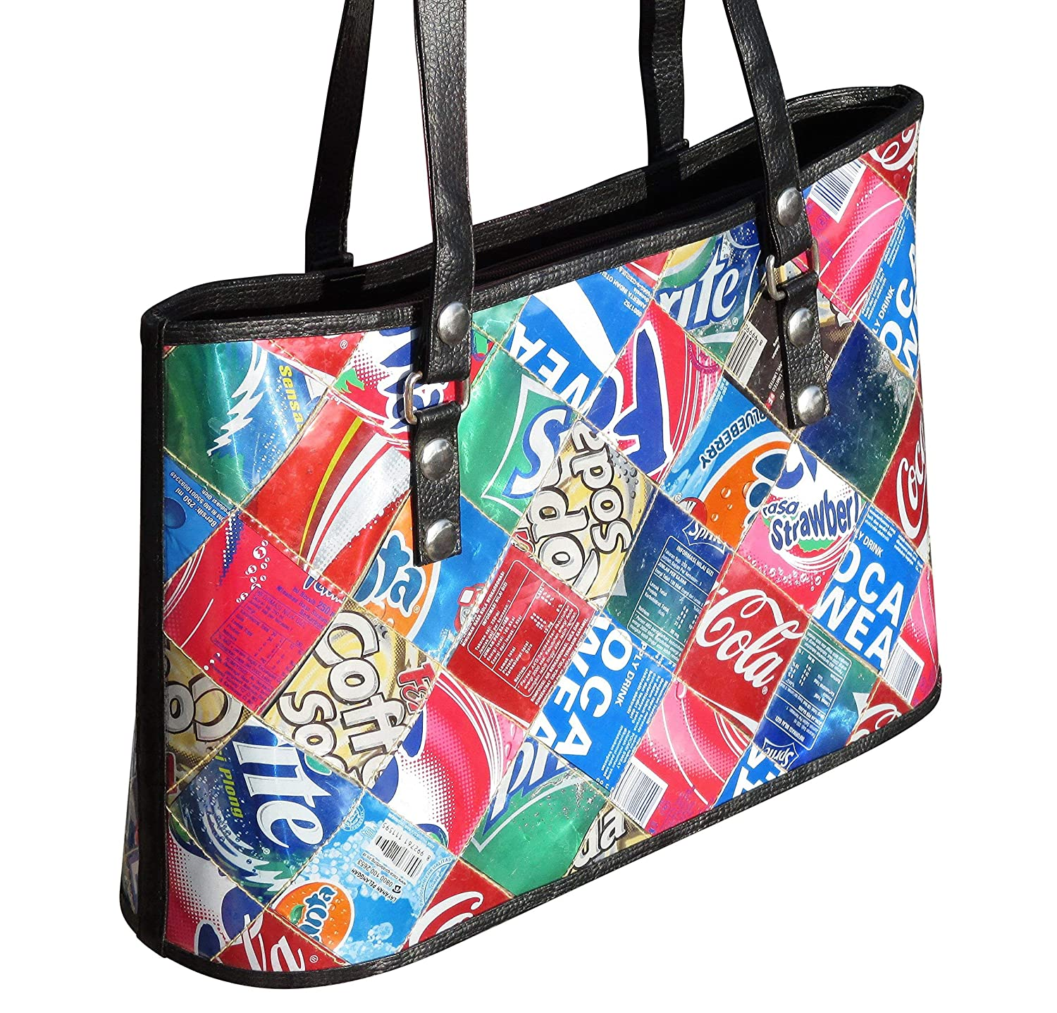 a9440b131b Handbag made from soda can - FREE SHIPPING - vegans recycled handmade bag  earth lover lovers style Fair trade ethical fun present presents inspiring  ...