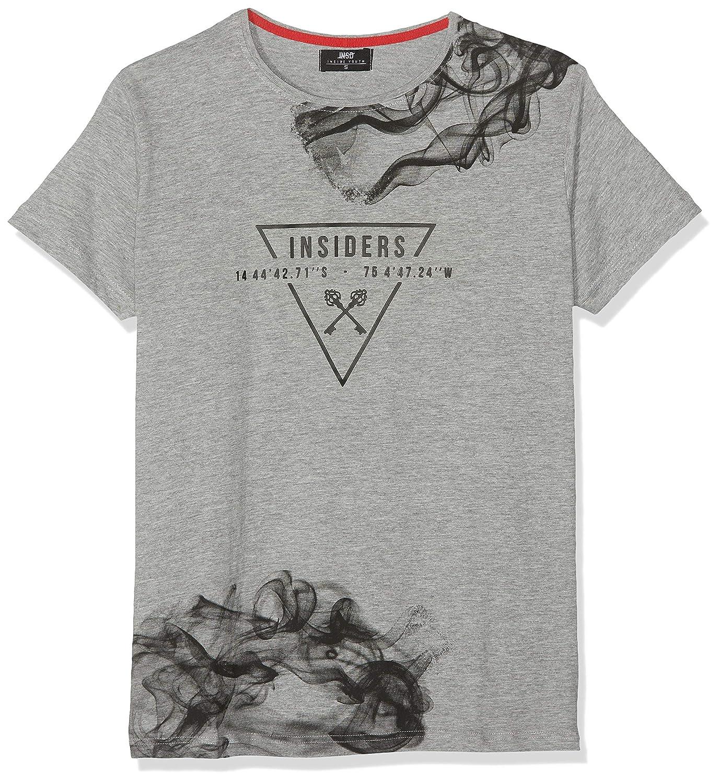 Inside 7ECN11 Camiseta, (Gris 61), Small (Tamaño del Fabricante:S ...