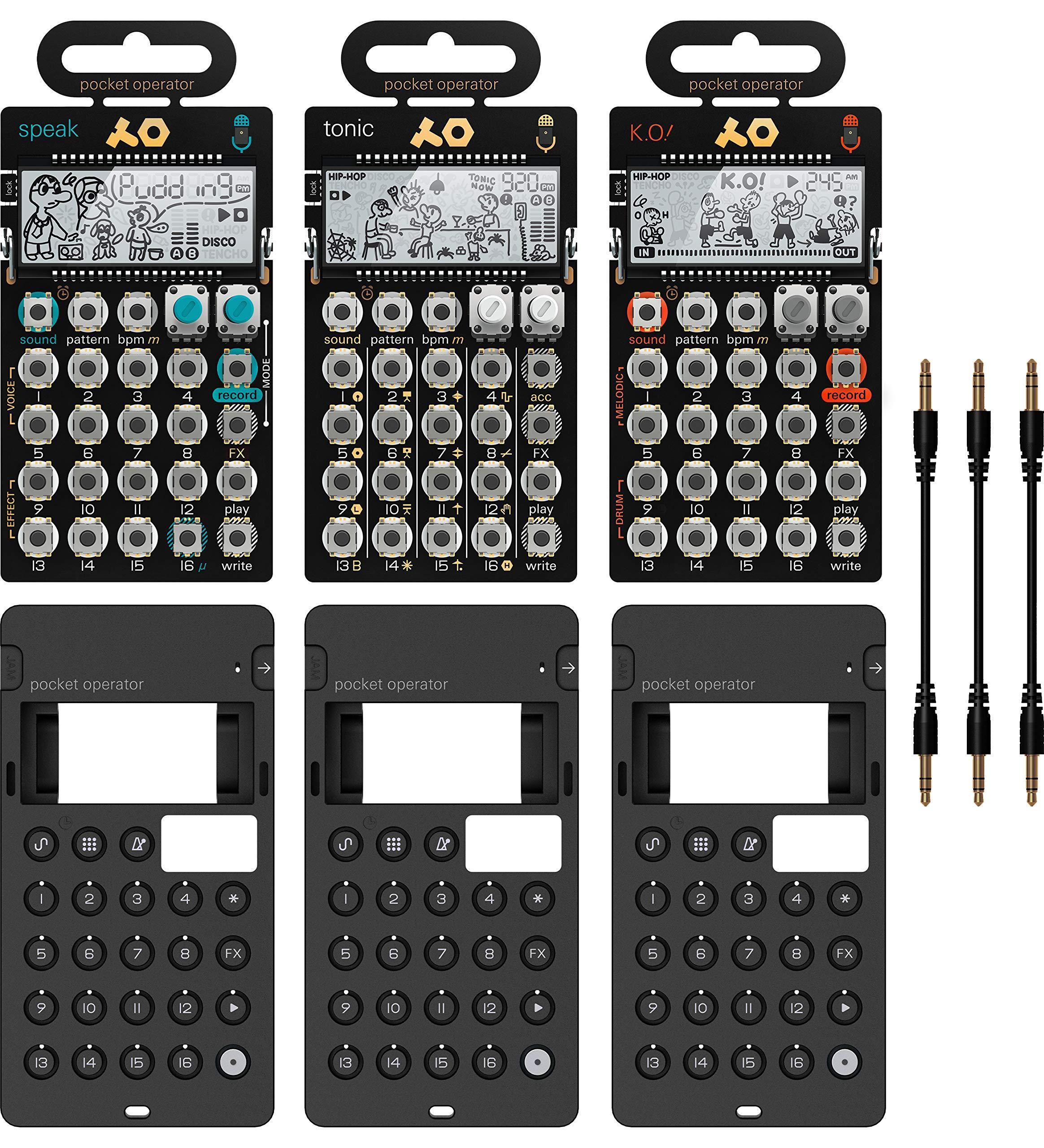 Teenage engineering PO-30 Metal Series Pocket Operators Super Set by Teenage Engineering