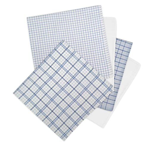 Geoffrey Beene 5 Pack Men's Handkerchiefs Gift Box