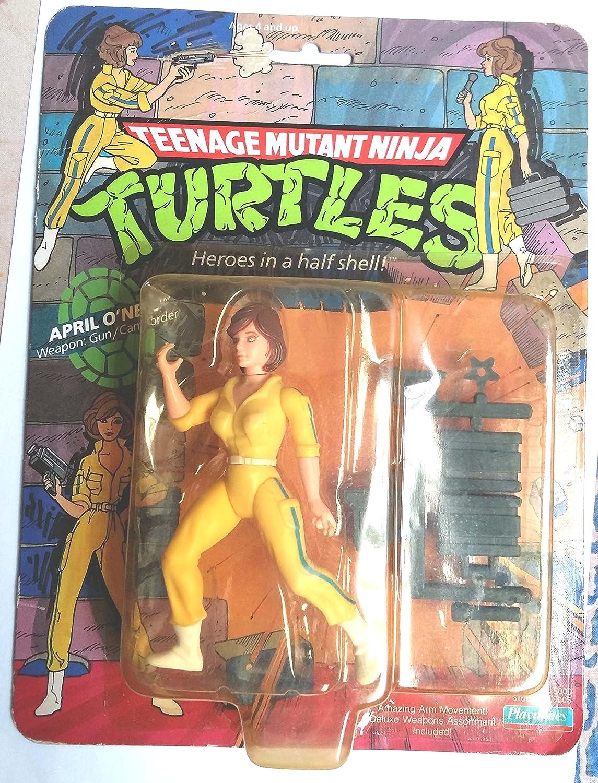 PlayMates Teenage Mutant Ninja Turtles>abril ONeil Original ...