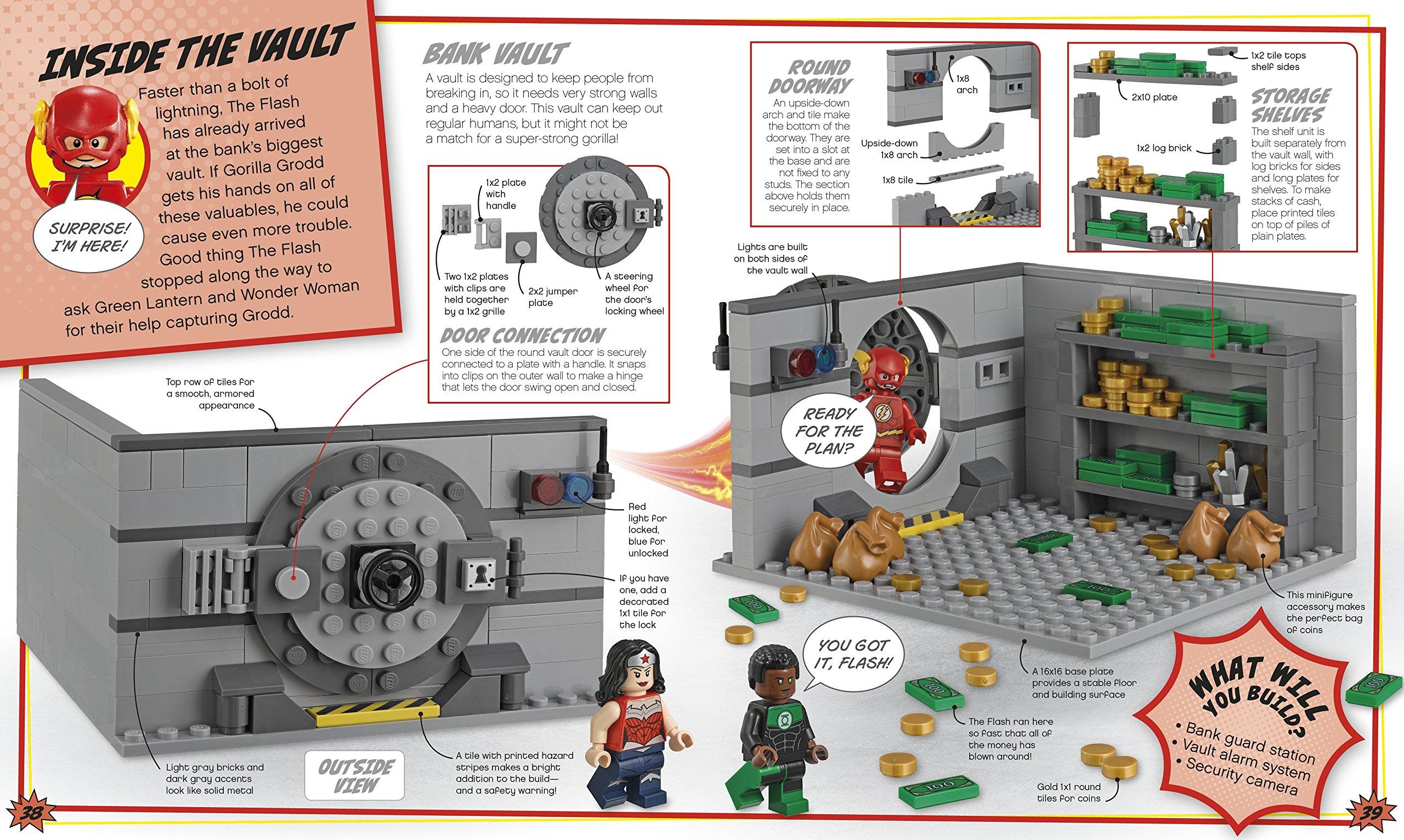 lego dc comics super heroes build your own adventure livros na